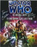 Tom Baker, Louise Jameson, John Leeson - Multi signed original autograph not a copy 10260